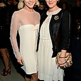 Emilio Pucci-clad Julianne Hough and Drew Barrymore linked up at the Modern Muse event held by Estée Lauder.