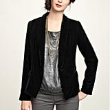 The classic, revamped in a supersoft, luxe velvet.  Gap Velvet Blazer ($98)