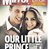 The front page of Daily Mirror, from England, on July 23.