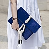 This nautical bag is ready for the beach!
