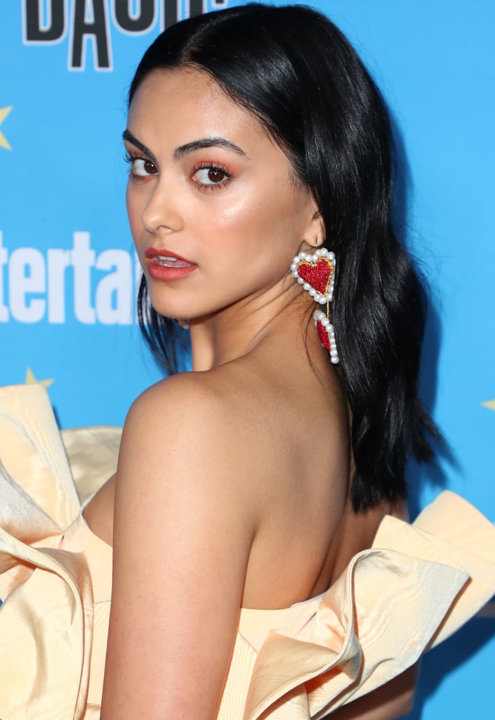 Camila Mendes's Black Nail Polish Colour