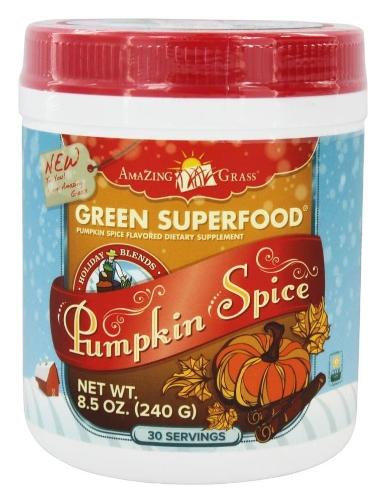 Amazing Grass Pumpkin Spice Green SuperFood Powder