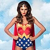 Wonder Woman Cape Suit  Source: Facebook user Black Milk Clothing