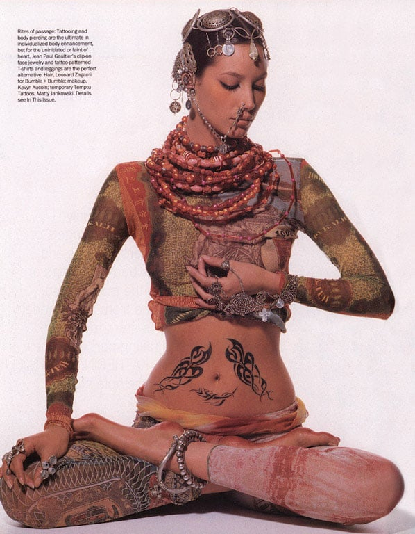 """Body Language,"" Vogue, April 1994"