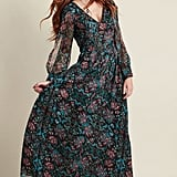 Modcloth Loop, Twirl, and Arch Maxi Dress