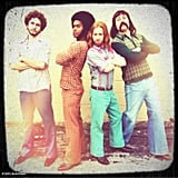 Seth Green went retro with his castmates on the set of The Identical. Source: Seth Green on WhoSay