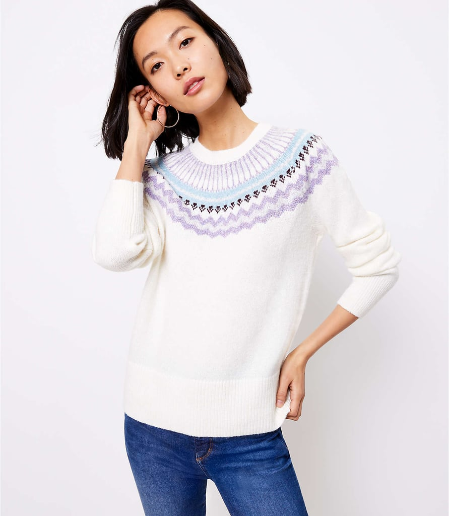 Shimmer Fair Isle Sweater