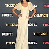 Nicole Trunfio at the Australia The Face photocall.