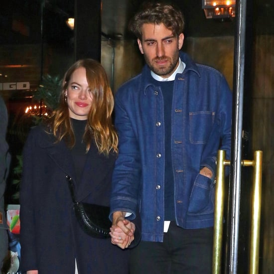 Emma Stone's Gorgeous White Gold and Pearl Engagement Ring