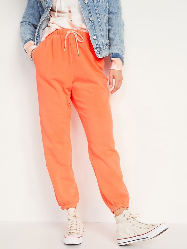 Extra High-Waisted Specially Dyed Sweatpants