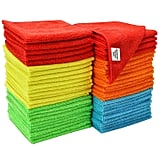 S&T Inc. Assorted 50 Pack Microfibre Cleaning Cloths