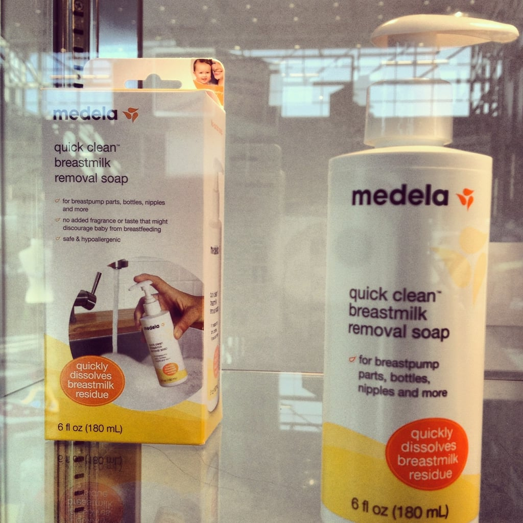 Medela is helping parents clean the residue off of breast pump parts with its new soap.