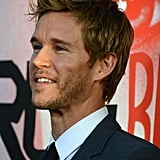 Ryan Kwanten flashed a smile at the premiere in Hollywood.