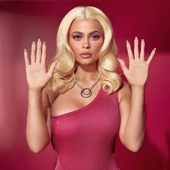Kylie Jenner's Barbie Halloween Costume Makeup