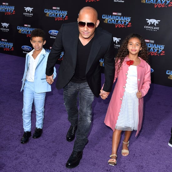 Vin Diesel and His Kids at Movie Premiere in LA April 2017