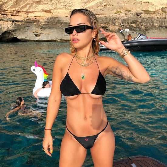 Rita Ora Wearing a Swimsuit