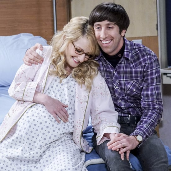Howard and Bernadette's Baby on The Big Bang Theory
