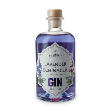 The Old Curiosity Secret Garden Gin Lavender And Echinacea