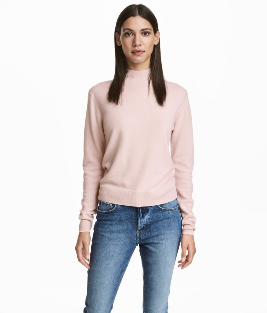H&M Cashmere Sweater | Cheap Cashmere Sweaters | POPSUGAR Fashion ...