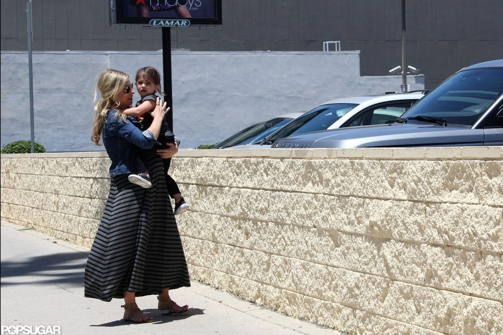 Sarah Michelle Gellar Has a Sweet Saturday With Charlotte