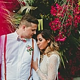 A Botanical Garden Was the Perfect Spot For This Hip Palm Springs Wedding