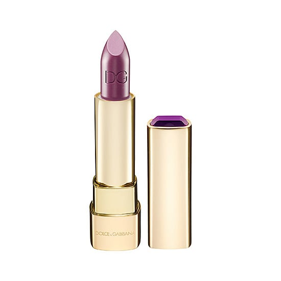 This month, Dolce & Gabbana released the Sicilian Jewels Collection, and the four Classic Cream Lipsticks ($36) come in brilliant gold, ruby, violet, and emerald shades.