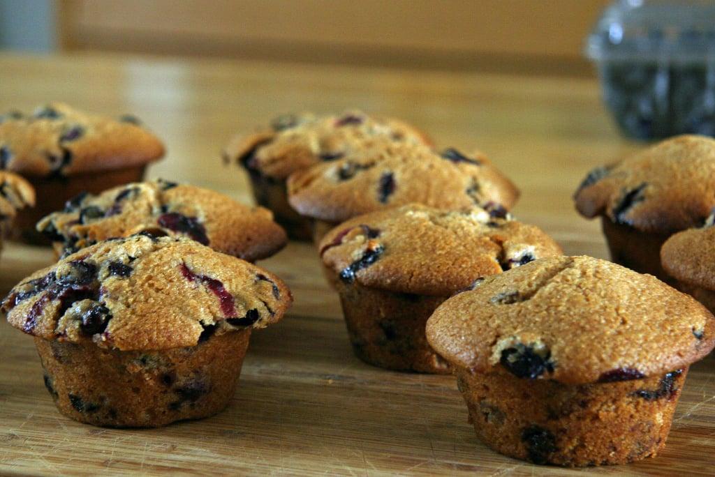 Gwyneth's Blueberry Muffins