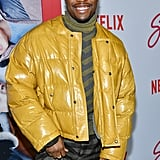Shameik Moore at the Let It Snow Premiere