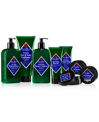 Jack Black hair care products