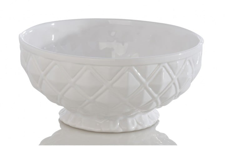 Serving Bowl, Ivory ($19)