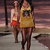 Victoria's Secret Model Jasmine Tookes Also Took the Runway