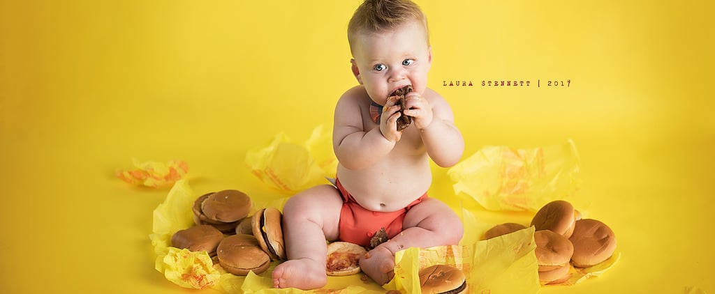This Baby Had a McDonald's Cheeseburger Smash — and (Ba Da Ba Ba Bah) We're Lovin' It