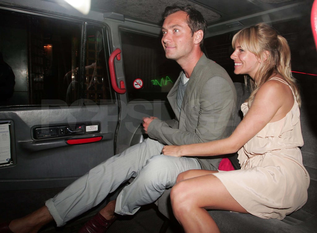 Pictures of Jude Law and Sienna Miller