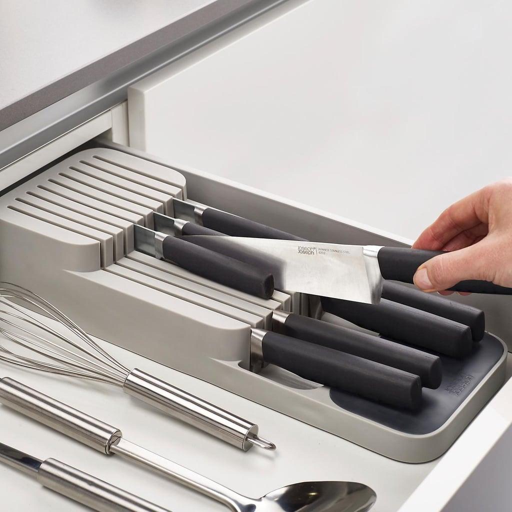 Joseph Joseph 2-Tier DrawerStore Knife Organizer