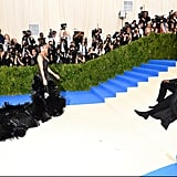 Diddy Lays on the Met Gala Red Carpet to Get the Best View of Girlfriend Cassie