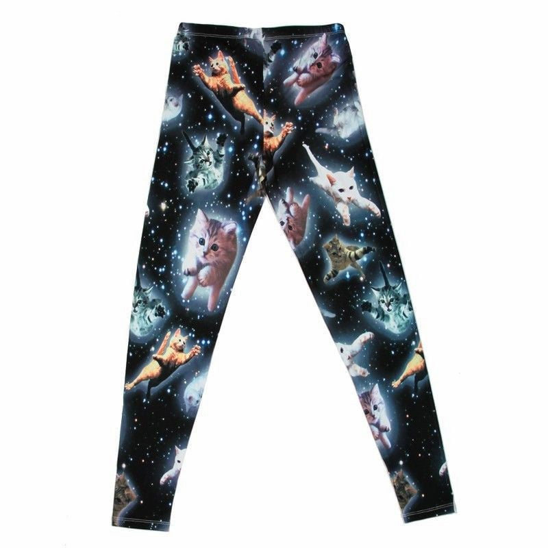 Three words: space cat leggings ($28).