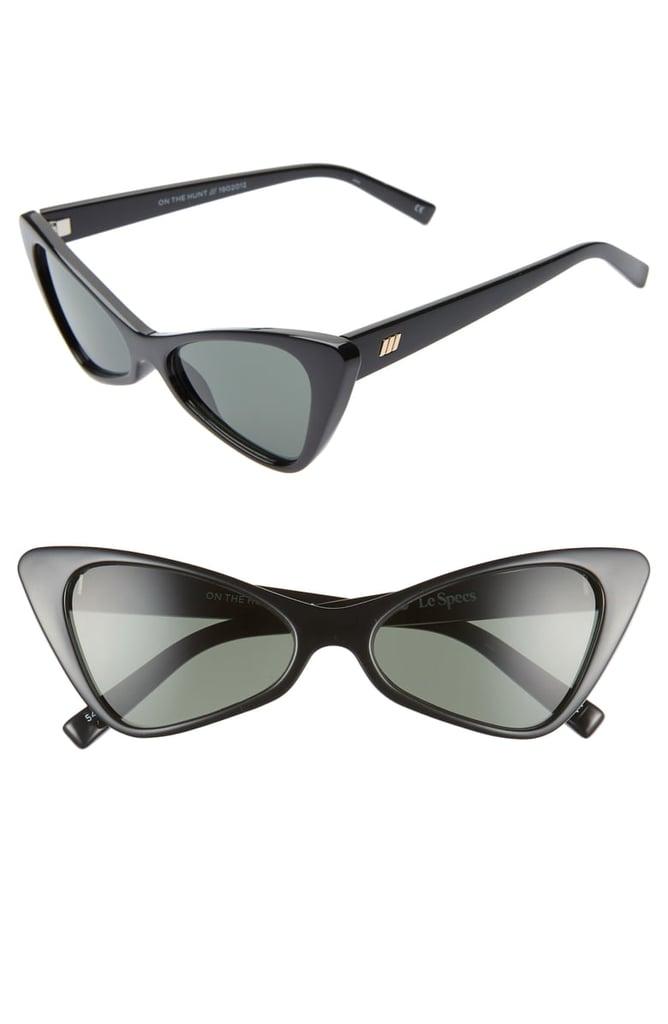 39e887f842369 Le Specs On the Hunt 54mm Cat Eye Sunglasses