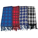 Poly-Fleece Plaid Scarf ($1)