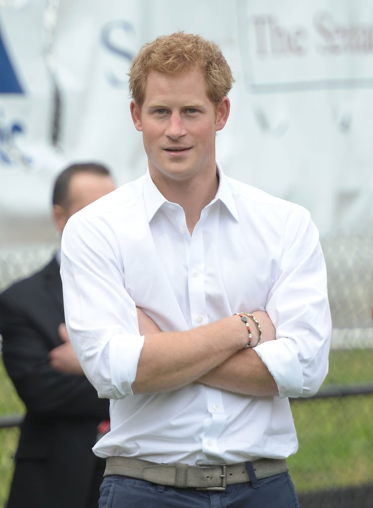 Where Does Prince Harry Go Out?