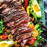 Fajita Salad With Steak
