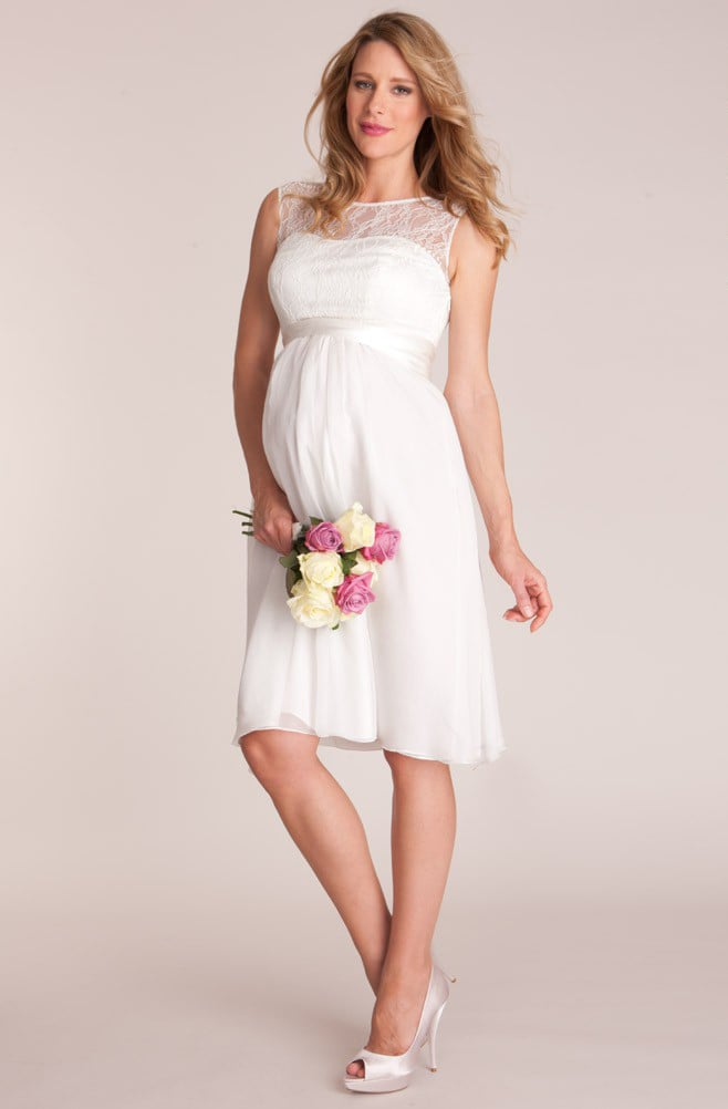 Affordable Maternity Wedding Dresses | POPSUGAR Moms