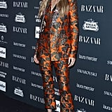 Gigi Hadid Walked the Red Carpet For Harper's Bazaar's Icons Party