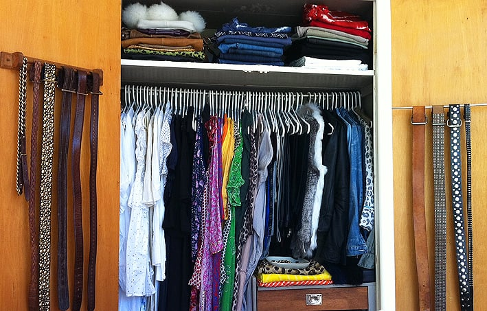 Again, too many clothes!