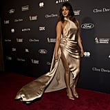 Priyanka Chopra at Clive Davis's 2020 Pre-Grammy Gala in LA