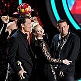 Matthew McConaughey, Elizabeth Banks, and Channing Tatum