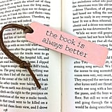 Because bookmarks speak volumes.