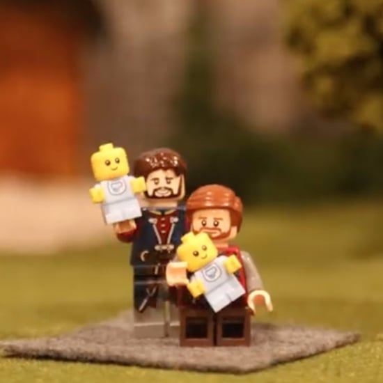 Same-Sex Couple's Lego Pregnancy Announcement Video