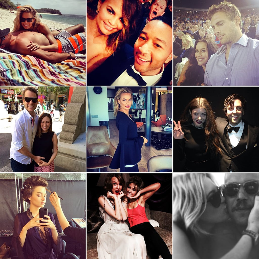 Celebrity Twitter and Instagram Pictures Week Jan 31 2014