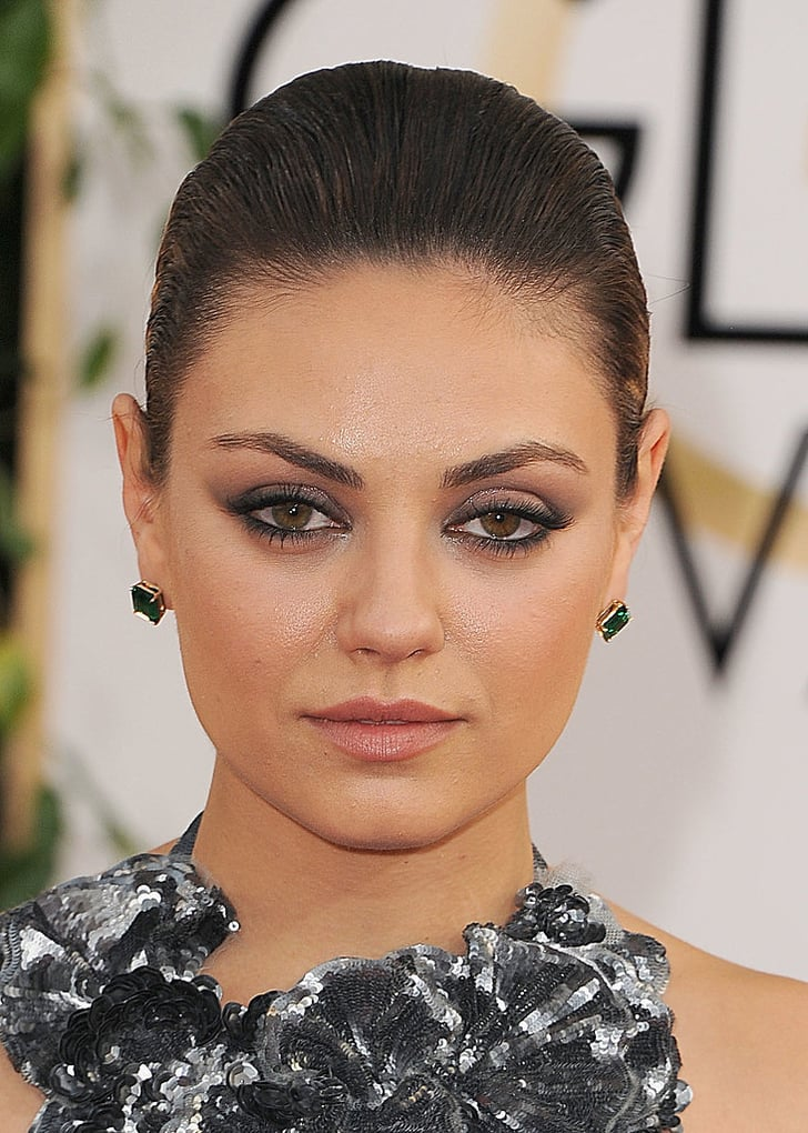 Stars Make a Point at the Golden Globes With Sharp Liner Looks