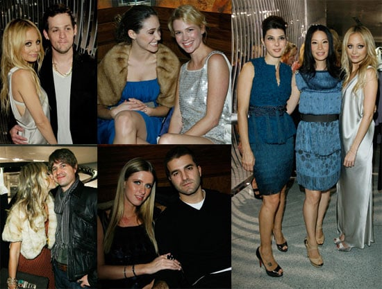 Photos of Nicole Richie, Joel Madden, Nicky Hilton, Rachel Zoe, Lucy Liu at Alberta Ferretti's Flagship Store Opening Party